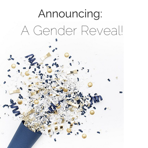 Announcing A Gender Reveal